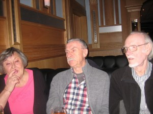(Reunion in Restaurang Parma, Sundbyberg, Sweden Nov. 2014)